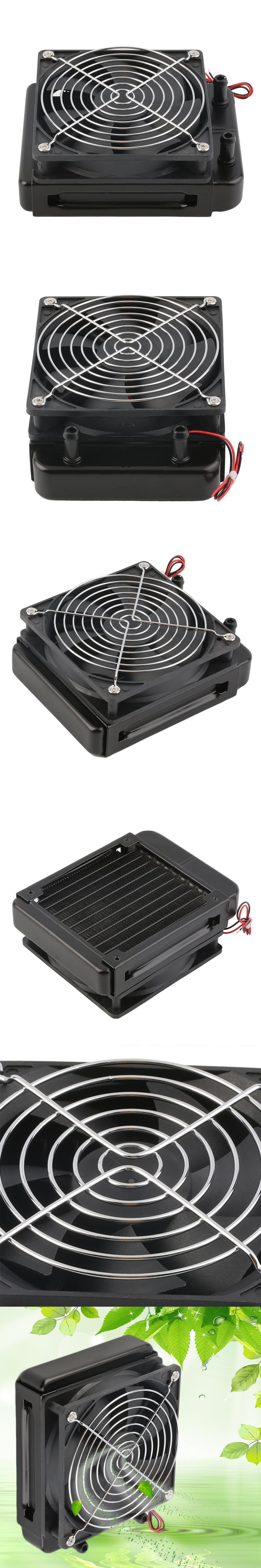 Kühl 120mm Wasser CPU Kühler Reihe Wärmetauscher Kühler mit Lüfter ...