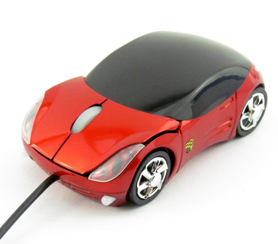 marque nouveau rouge voiture forme usb 3d optique souris pour pc portable js ebay. Black Bedroom Furniture Sets. Home Design Ideas