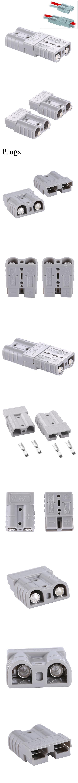 2x Battery Stecker Anderson 600V 50A 6AWG Modelbau Stapler LKW PKW ...