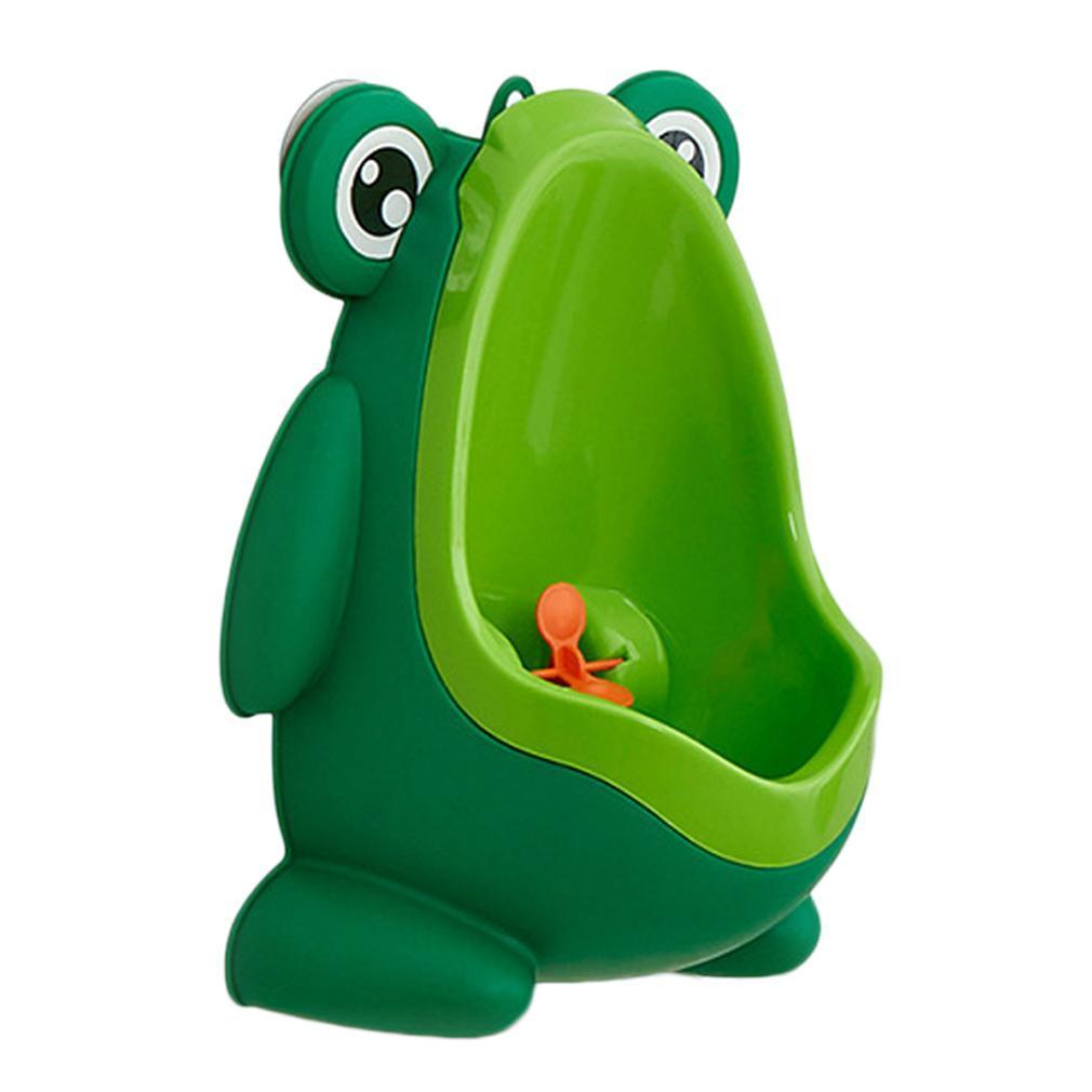 Kids Boy Cartoon Frog Potty Toilet Training Children Urinal Pee Trainer Bathroom