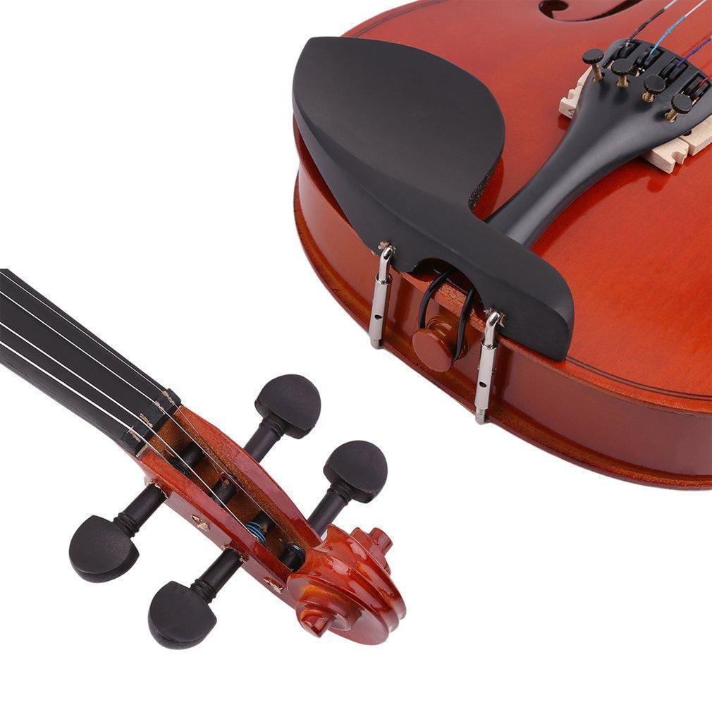 4 4 high grade solid wood handmade acoustic violin fiddle with carry case mt ebay - Marcas de sabanas buenas ...